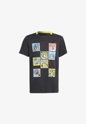 ADIDAS PERFORMANCE ADIDAS X LEGO - T-shirt imprimé - black