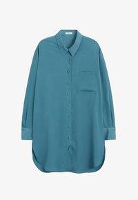 Violeta by Mango - LAURITA - Button-down blouse - petrolejová modrá - 4