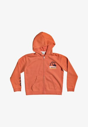 SWEET AS SLAB  - Zip-up hoodie - chili