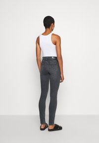 Calvin Klein Jeans - HIGH RISE SKINNY - Jeansy Skinny Fit - grey - 2