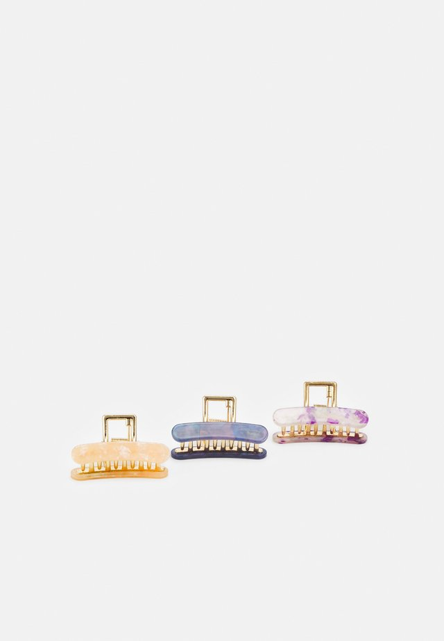 FGCECILIA HAIRSHARK 3 PACK - Håraccessoar - gold-coloured
