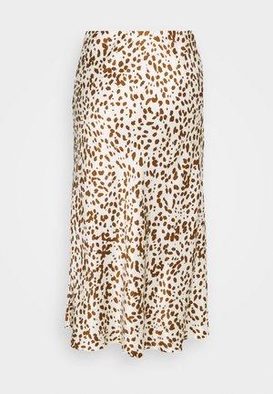 OLANDA LEO - A-snit nederdel/ A-formede nederdele - soft stone