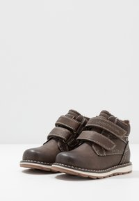 TOM TAILOR - Winter boots - coffee - 3