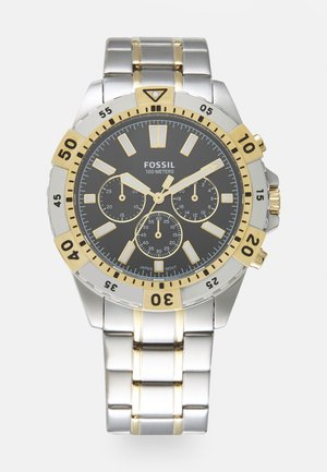 GARRETT - Chronograph watch - silver-coloured/gold-coloured