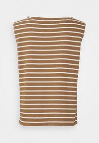comma casual identity - Print T-shirt - beige - 1