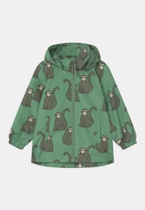 MONKEY UNISEX - Waterproof jacket - light green
