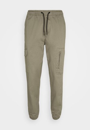 JJIACE JJHILL  - Trousers - dusty olive