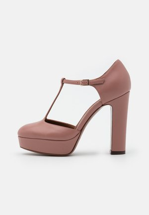 D'ORSAY - High heels - ancient pink
