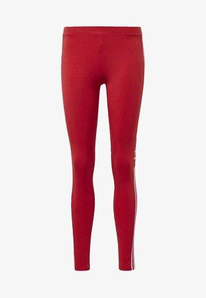 TREFOIL LEGGINGS - Leggings - red