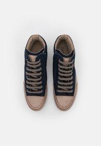 Candice Cooper - PLUS  - Sneakers hoog - navy/tamponato stone - 4