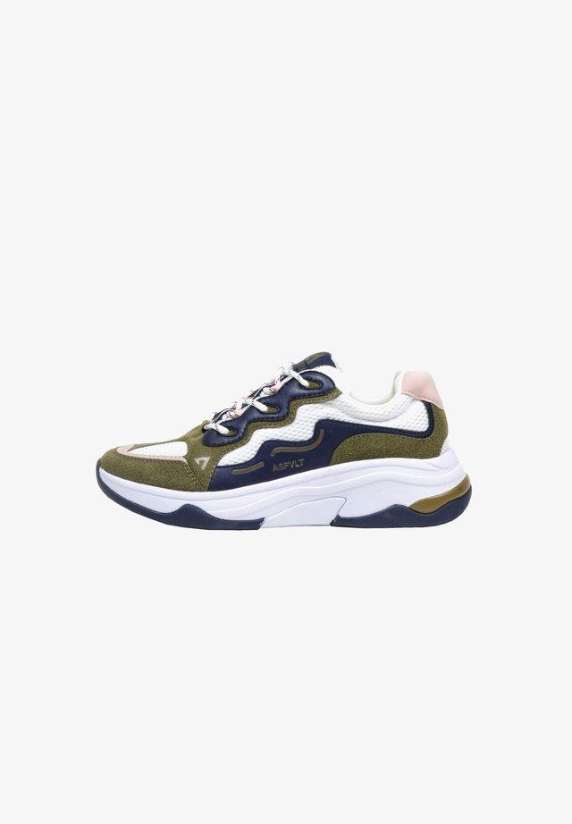 ONSET - Sneakers laag - army/nav.p