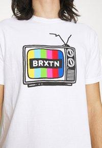 Brixton - SERVICE - Print T-shirt - white - 4