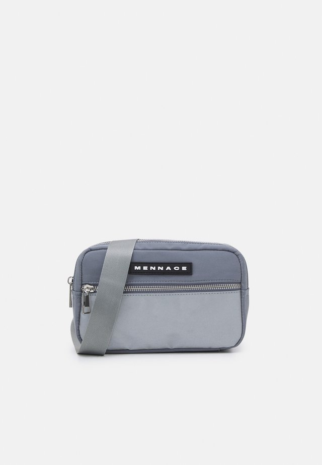 CLIP SADDLE BAG UNISEX - Ledvinka - grey