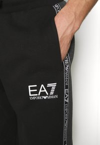 EA7 Emporio Armani - SET - Tracksuit - black/white - 5