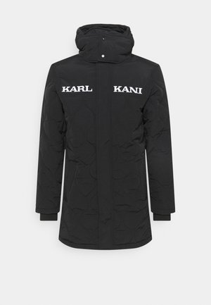 LONG JACKET UNISEX - Light jacket - black