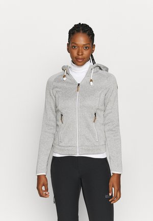 AUBURN - Fleece jacket - grey