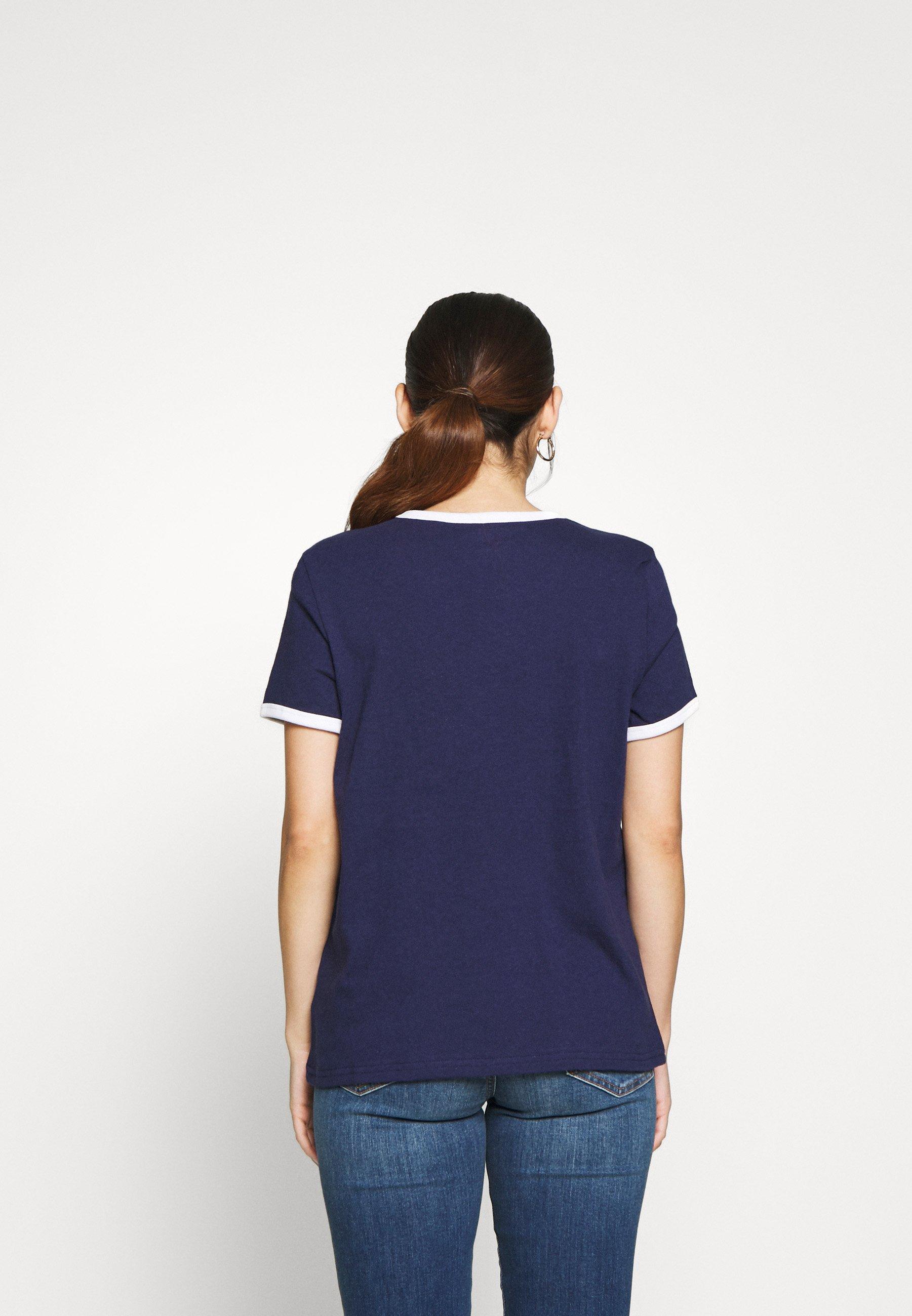GAP AMERICANA TEE - T-shirts med print - new navy