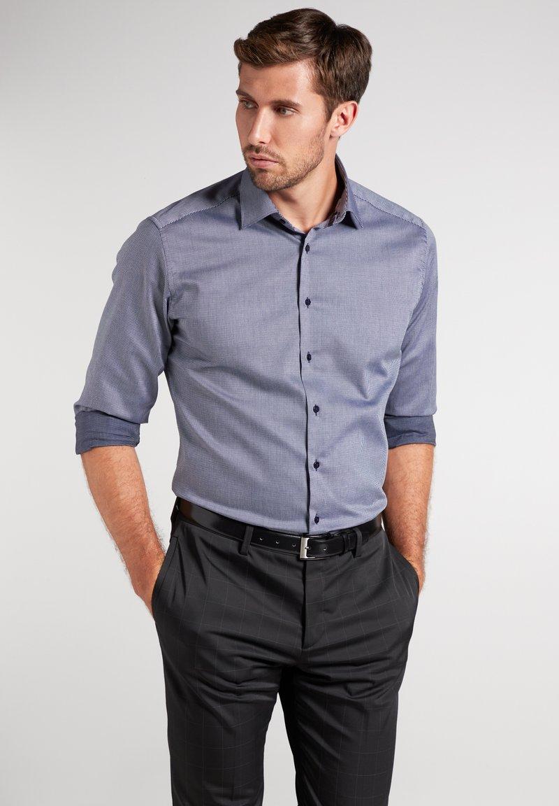 Eterna - MODERN FIT - Shirt - marine blau