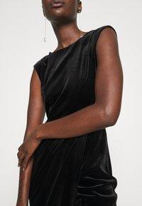 Closet - WRAP OVER DRESS - Shift dress - black - 6