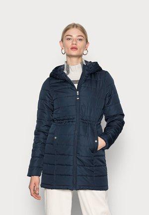 VMSIMONE HOODY JACKET - Abrigo de invierno - navy blazer