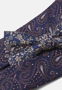 Jack & Jones - JACSHINNY NECKTIE SET - Cravatta - dark blue/gold-coloured - 6