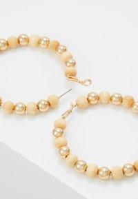 Skinnydip - BEADED - Pendientes - gold-coloured - 2