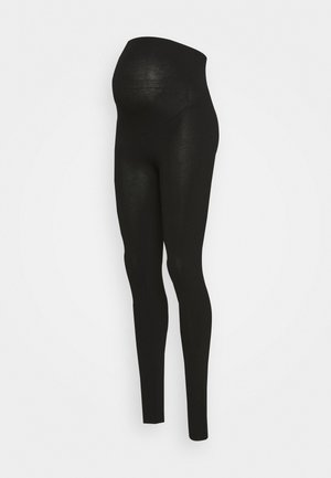 MOM LENA - Leggingsit - black