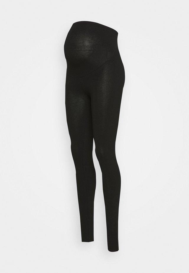MOM LENA - Leggingsit - black