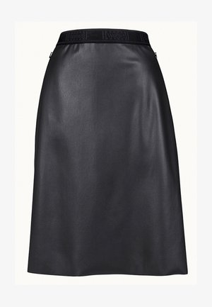 ESTELLA - A-line skirt - black