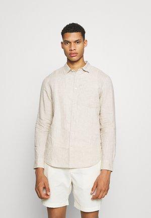 Linen Shirt - Košile - beige