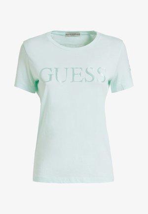 Print T-shirt - water green
