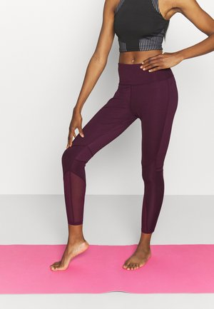 PANELLED INSERT LEGGING - Medias - fig