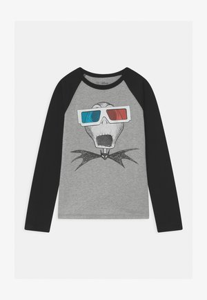 BOYS HALLOWEEN NIGHTMARE - Long sleeved top - light heather grey