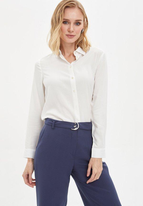 DeFacto Koszula - ecru/beżowy ZZQM