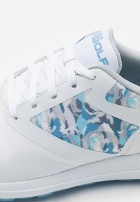 Skechers Performance - GO GOLF MAX DRAW - Golfové boty - white/blue - 5