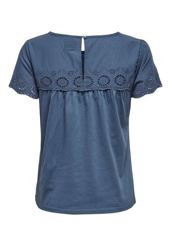 ONLY T-shirt z nadrukiem - vintage indigo Odzież Damska QESG GK 6