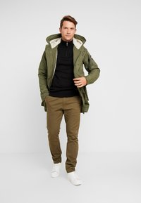 Superdry - WINTER AVIATOR  - Parka - deep depths - 1