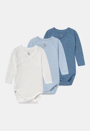 NAISS 3 PACK - Body - white/blue