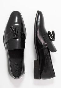 Zign - Elegantní nazouvací boty - black - 1