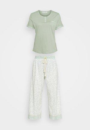 FLOWER - Pyjamas - dusty green