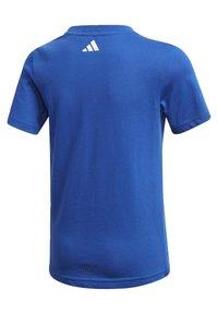 adidas Performance - COTTON T-SHIRT - Print T-shirt - blue - 3