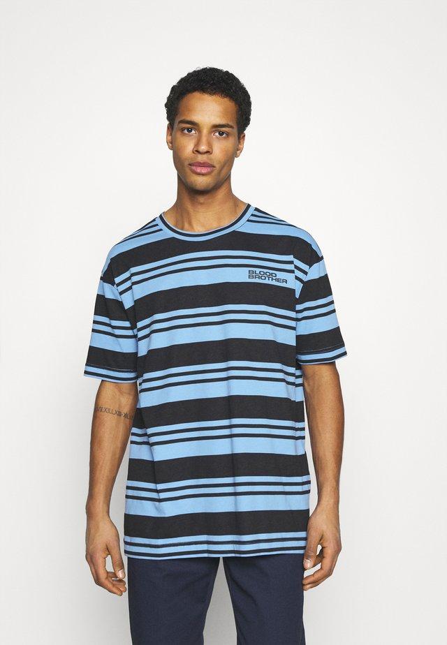 UNISEX RIMON TEE - Camiseta estampada - black/blue