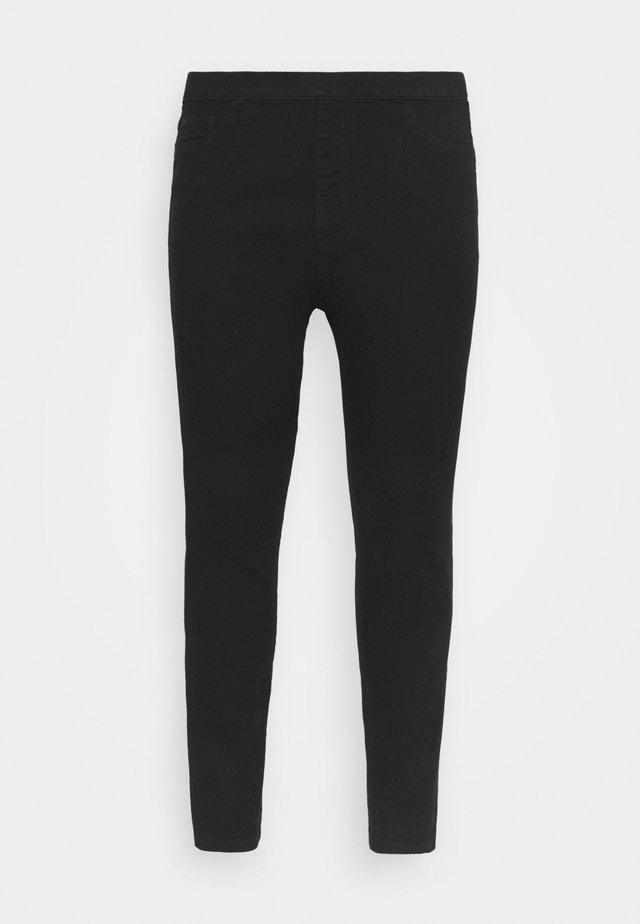 JEGGING - Džíny Slim Fit - black
