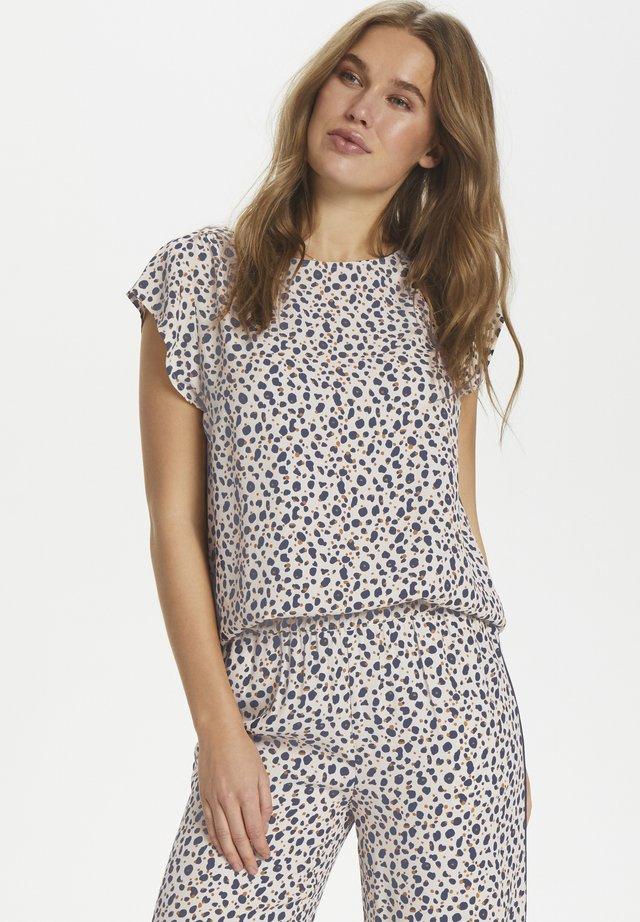 ADELE - Blouse - whisper cheetah