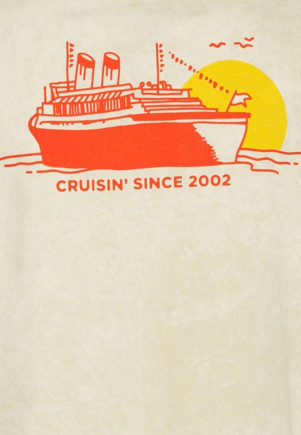 Nike SB TEE CRUISIN UNISEX - T-shirt z nadrukiem - sesame/beżowy Odzież Męska CCZZ