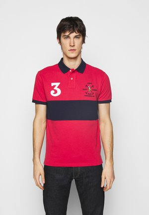 BASIC - Polo - sunrise red/multi