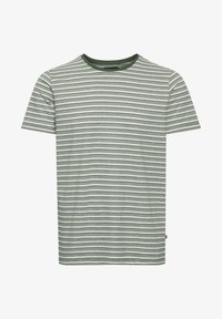 Matinique - Print T-shirt - olive night - 4