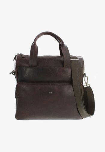 Briefcase - dark brown