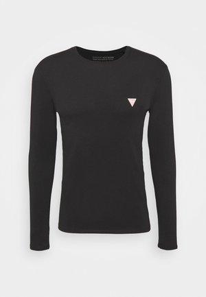 CORE TEE - Bluzka z długim rękawem - jet black