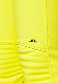 J.LINDEBERG - STANFORD - Spodnie narciarskie - banging yellow - 3